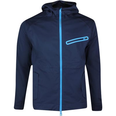 G/FORE Golf Jacket - Dry Tex Soft Shell Hoodie - Twilight SS21