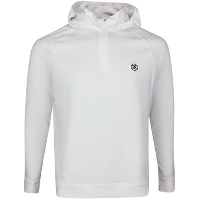 G/FORE Golf Pullover - Luxe Staple Hoodie - Snow SS21